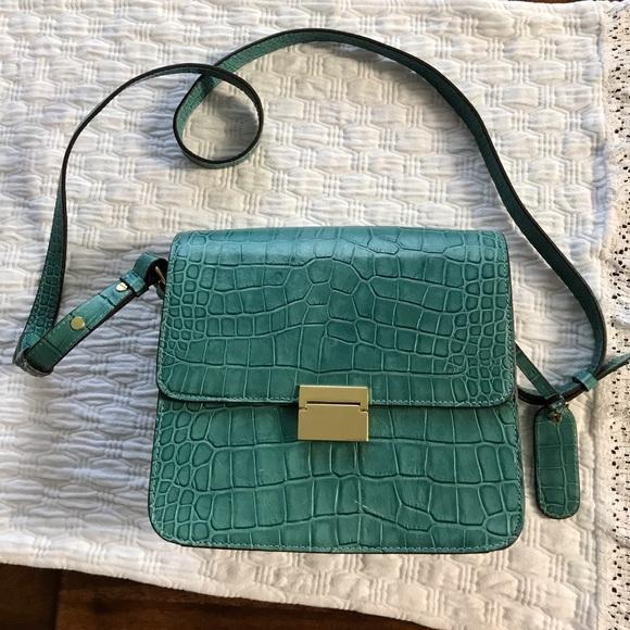 Cynthia Rowley Handbags - Teal Leather Cynthia Rowley Shoulder Bag NWOT